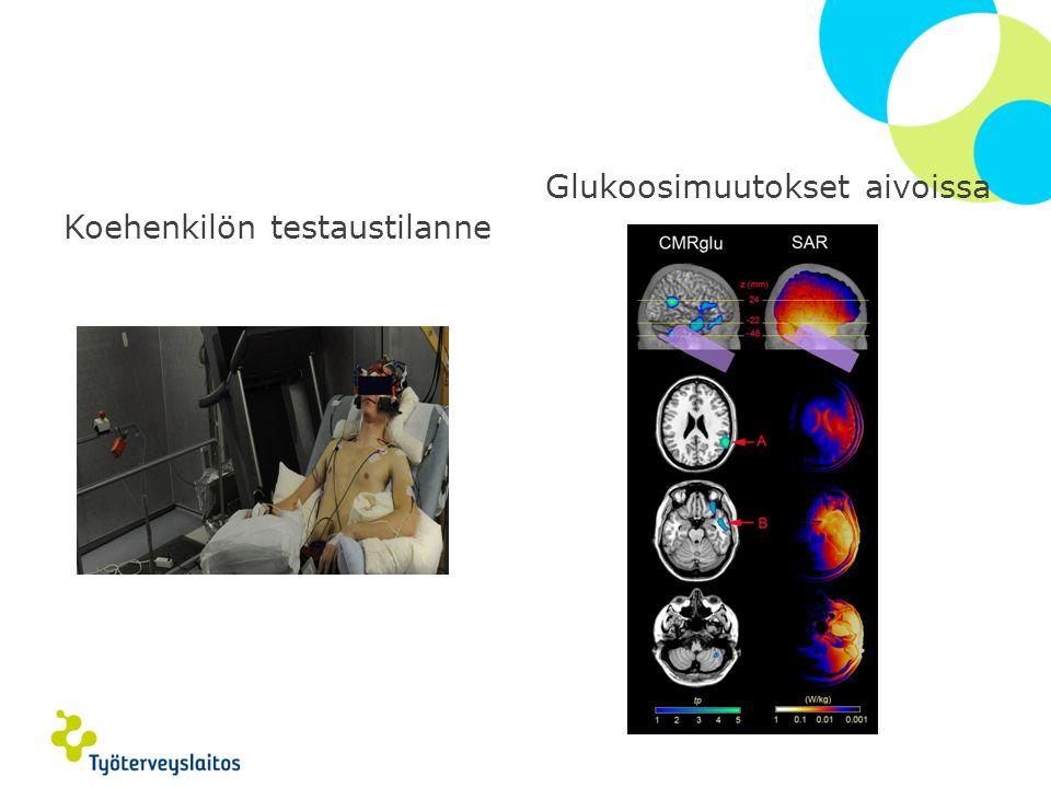 Glukoosimuutokset aivoissa
