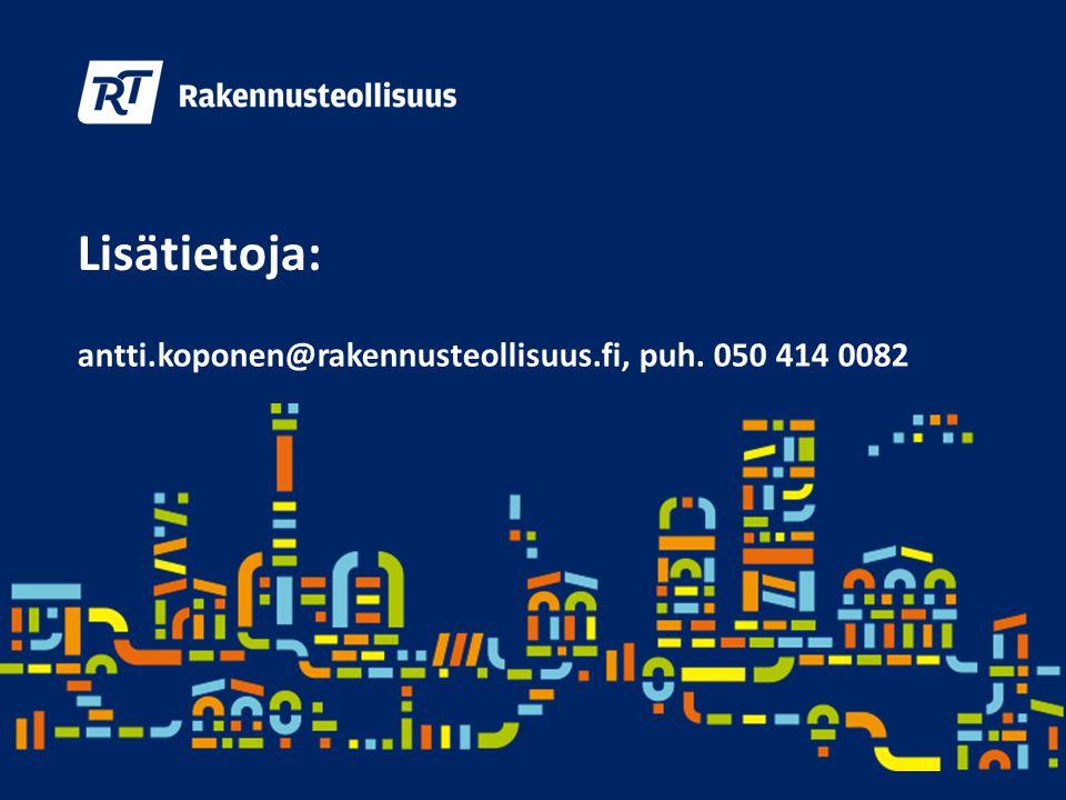 Lisätietoja: antti.koponen@rakennusteollisuus.fi, puh. 050 414 0082