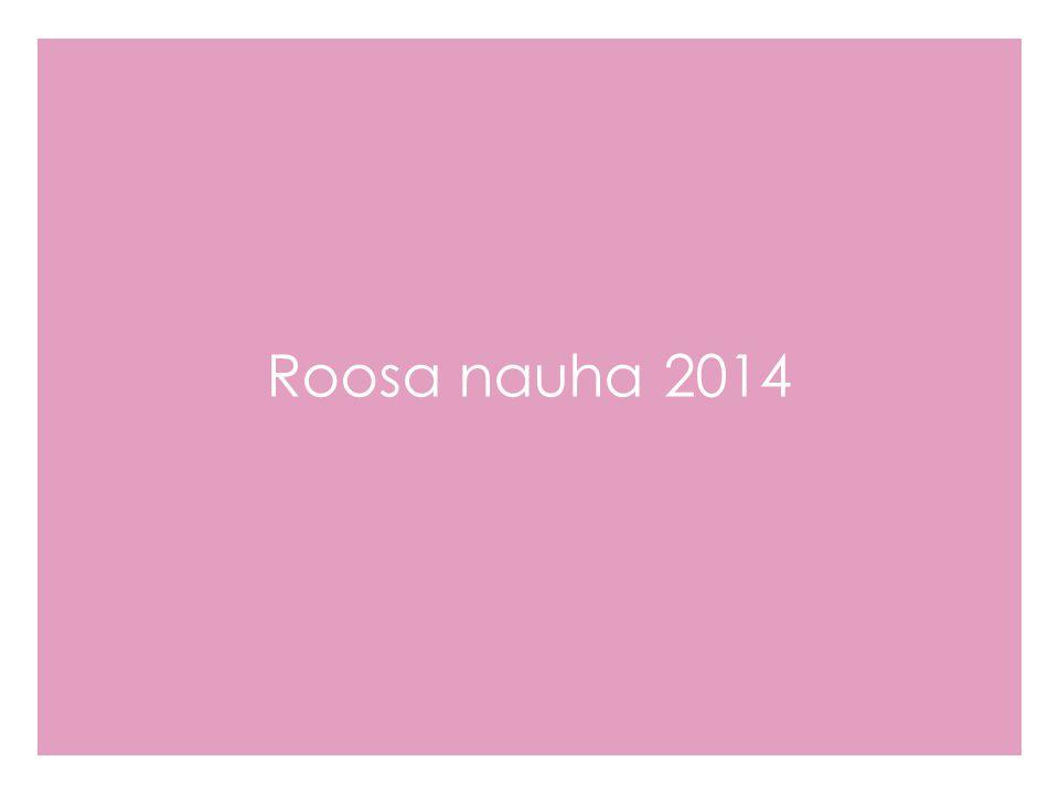 Roosa nauha 2014