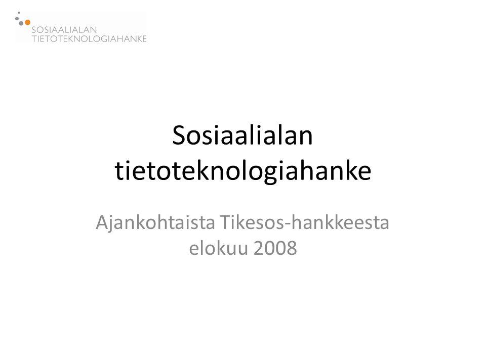 Sosiaalialan tietoteknologiahanke