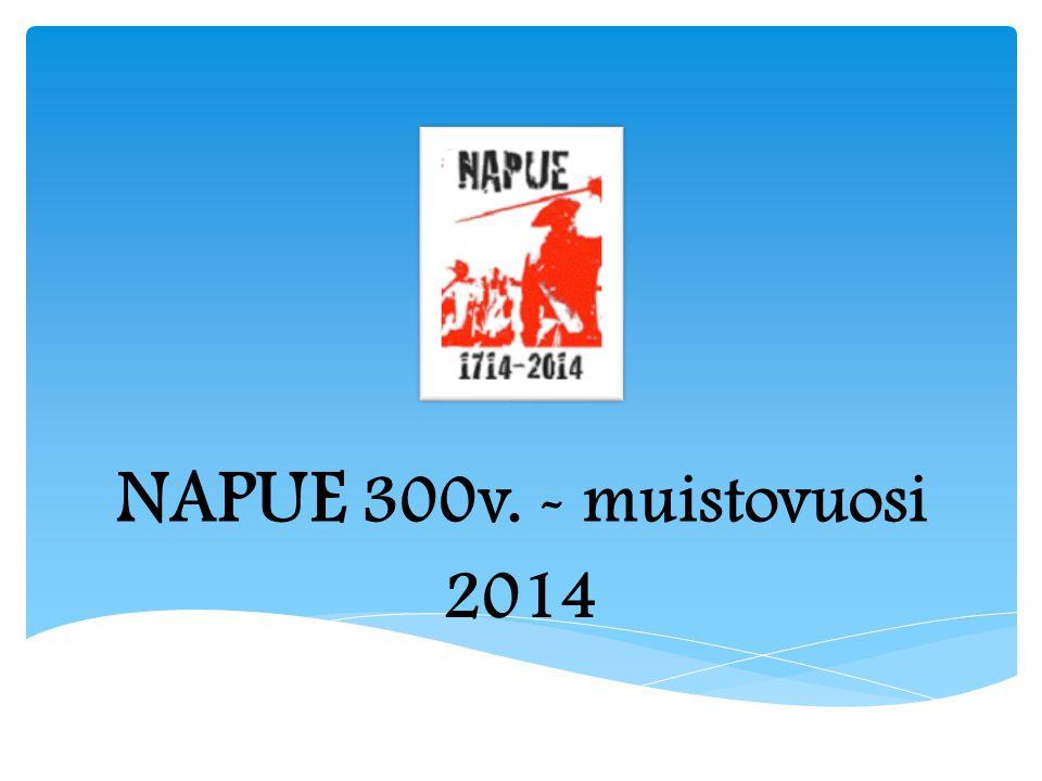 NAPUE 300v. - muistovuosi 2014