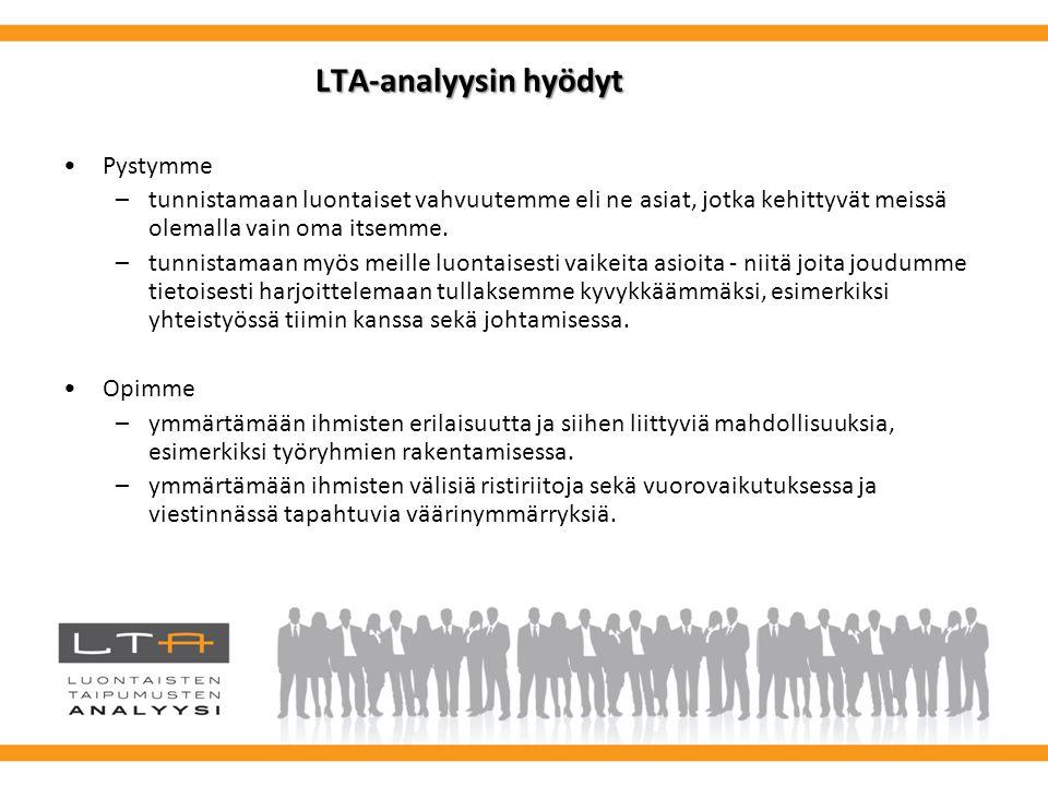 LTA-analyysin hyödyt Pystymme