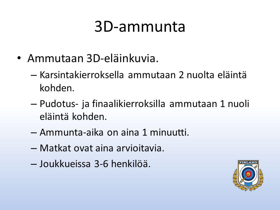 3D-ammunta Ammutaan 3D-eläinkuvia.