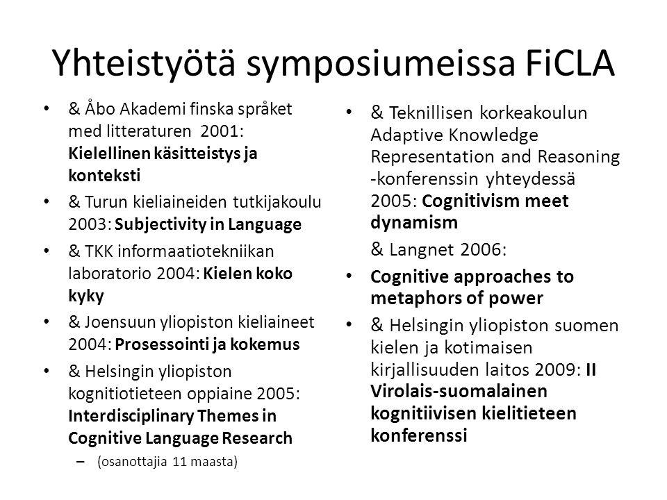 Yhteistyötä symposiumeissa FiCLA