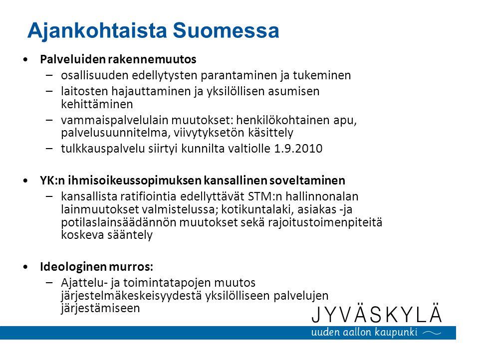 Ajankohtaista Suomessa