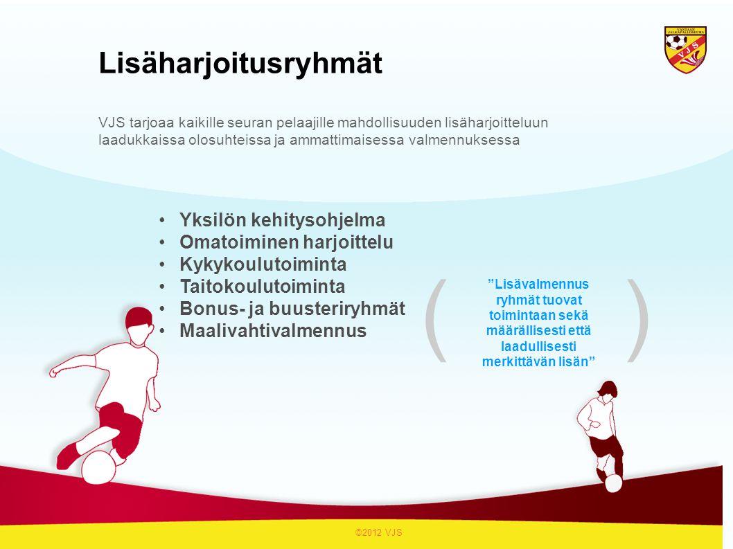 ( ) Lisäharjoitusryhmät Yksilön kehitysohjelma Omatoiminen harjoittelu