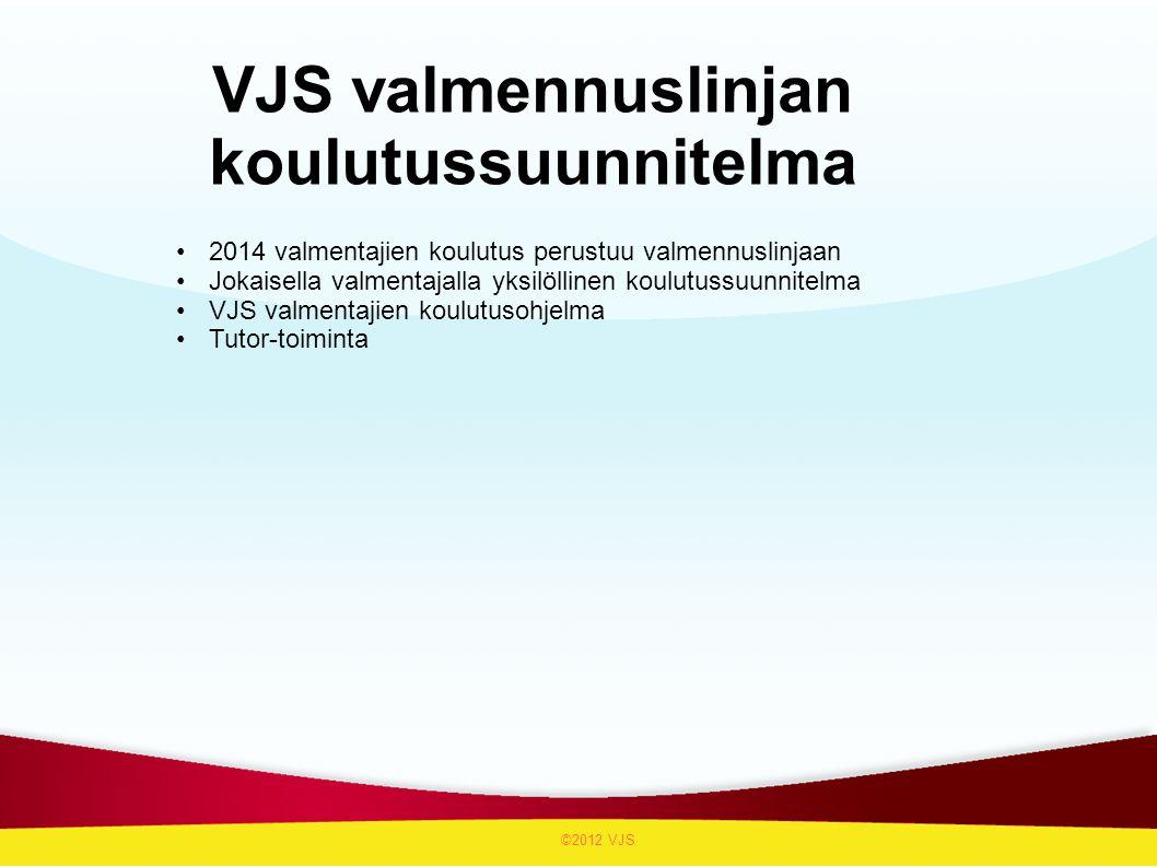 VJS valmennuslinjan koulutussuunnitelma