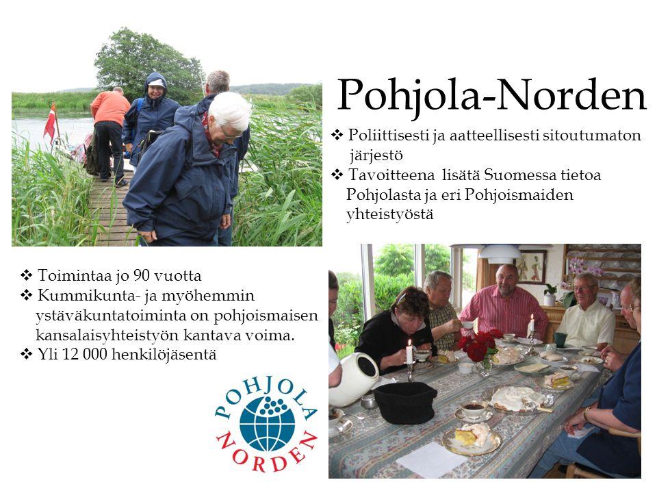 Pohjola-Norden Poliittisesti ja aatteellisesti sitoutumaton järjestö
