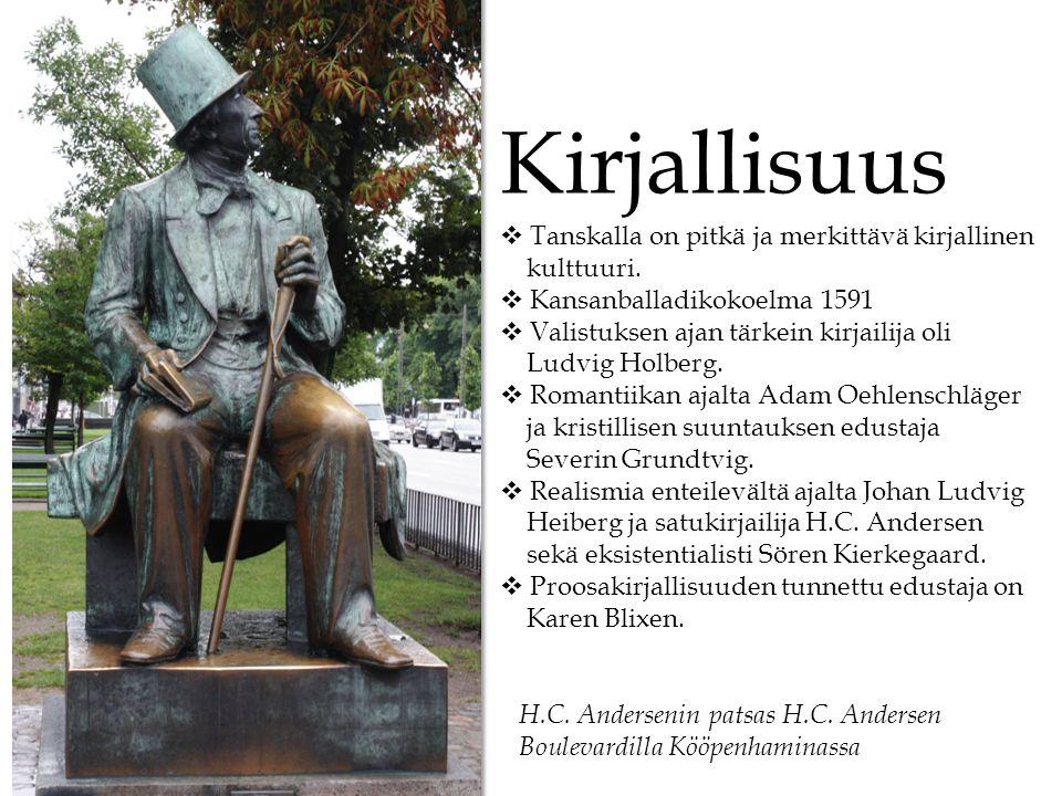 Kirjallisuus Tanskalla on pitkä ja merkittävä kirjallinen kulttuuri.