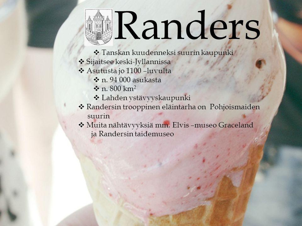 Randers Tanskan kuudenneksi suurin kaupunki