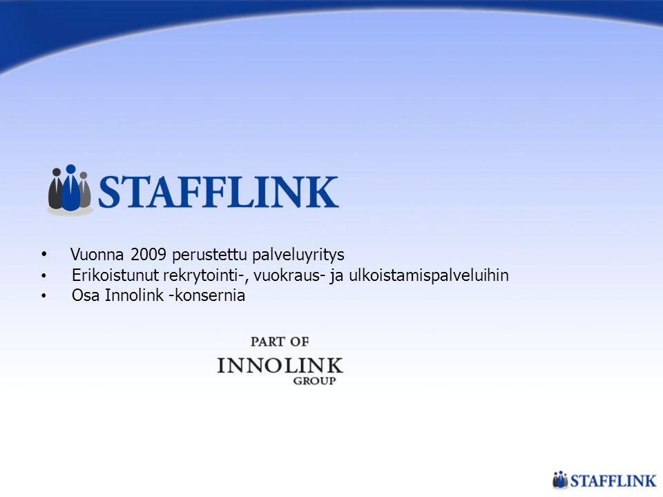 Vuonna 2009 perustettu palveluyritys