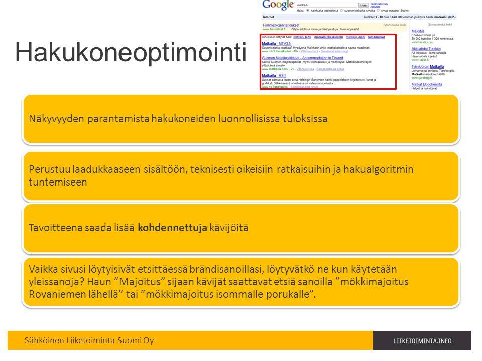 Hakukoneoptimointi Haaga-Perho copyright Kirsi Mikkola