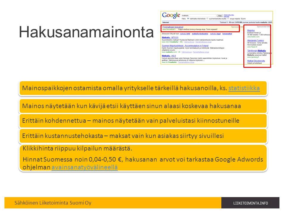 Hakusanamainonta Haaga-Perho copyright Kirsi Mikkola