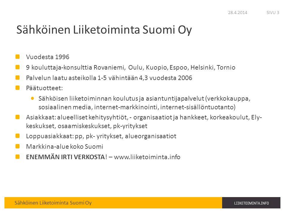 Sähköinen Liiketoiminta Suomi Oy