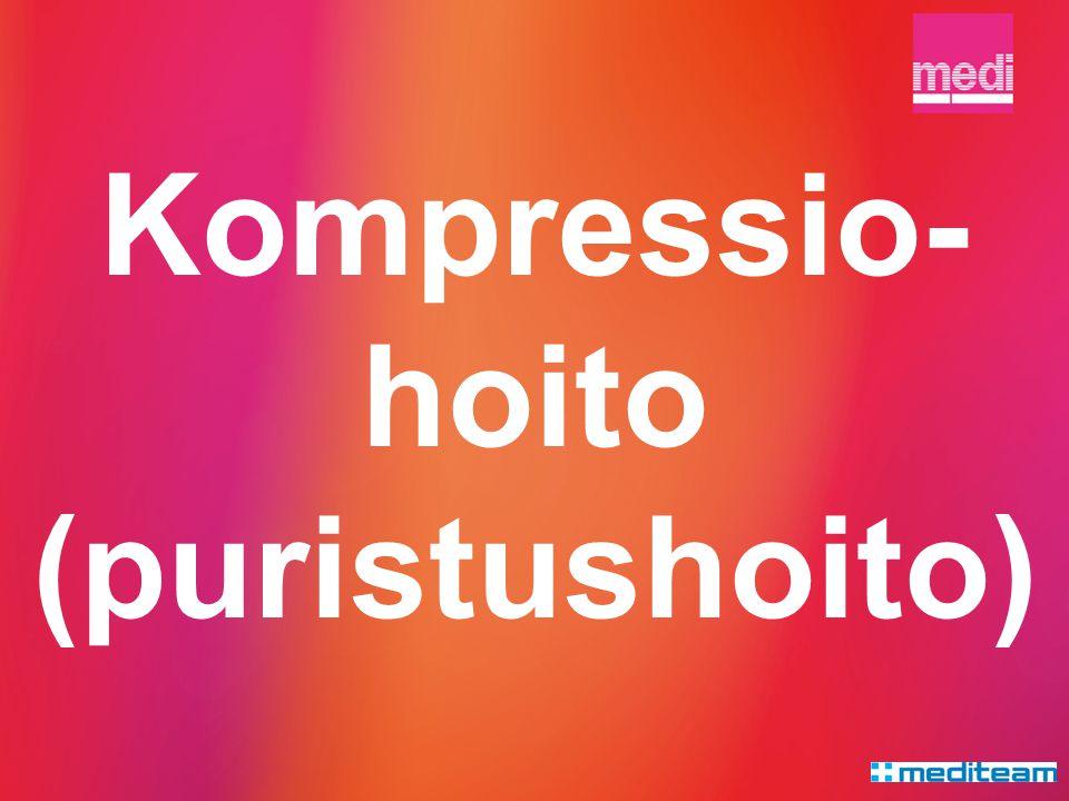 Kompressio-hoito (puristushoito)