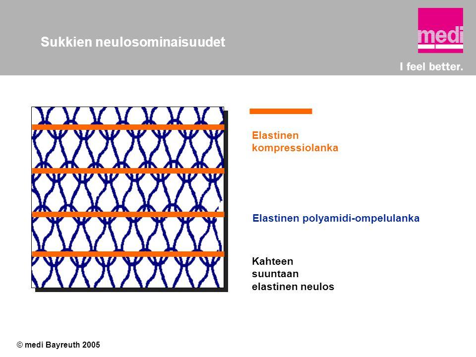 Sukkien neulosominaisuudet