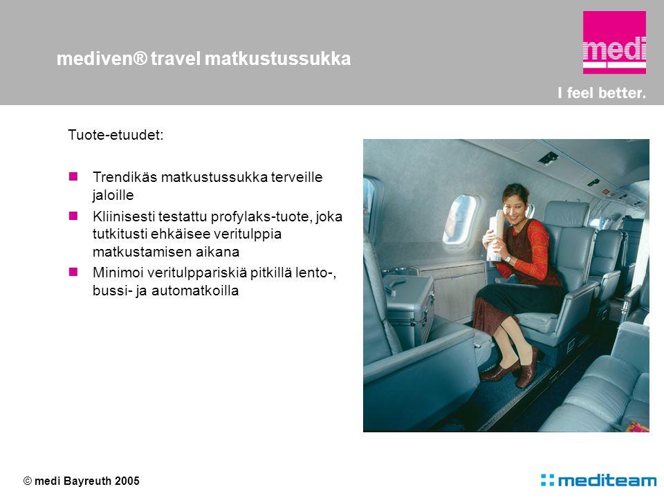 mediven® travel matkustussukka