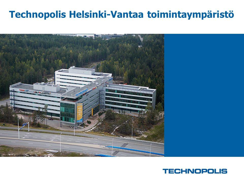 Technopolis Helsinki-Vantaa toimintaympäristö