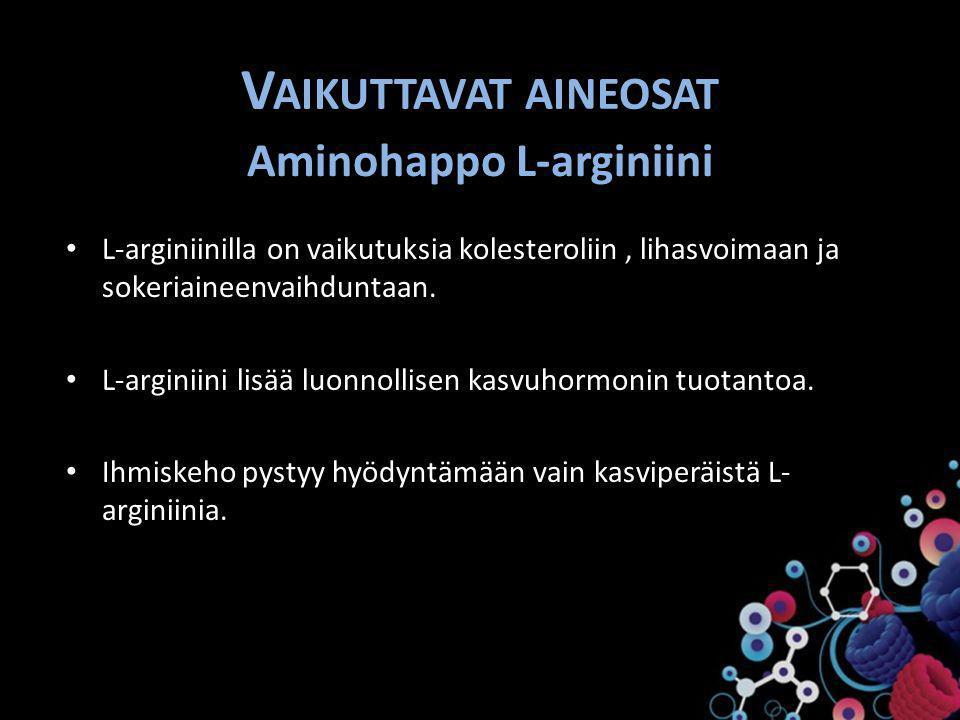 Aminohappo L-arginiini