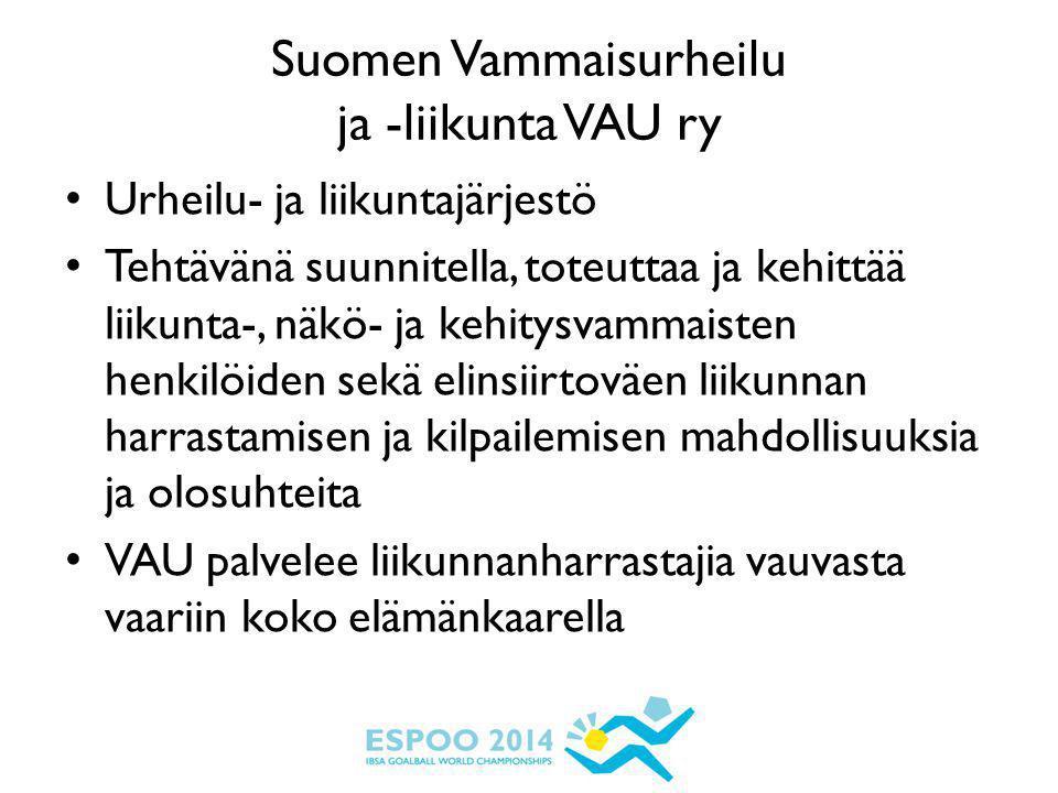 Suomen Vammaisurheilu ja -liikunta VAU ry