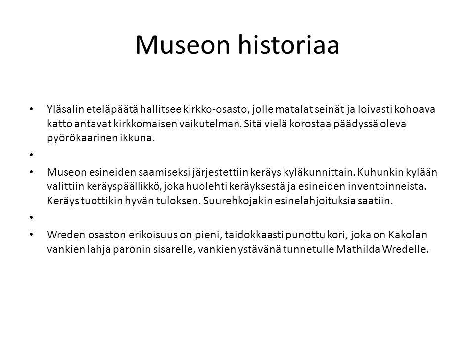 Museon historiaa