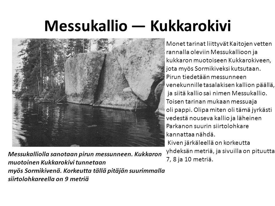 Messukallio — Kukkarokivi