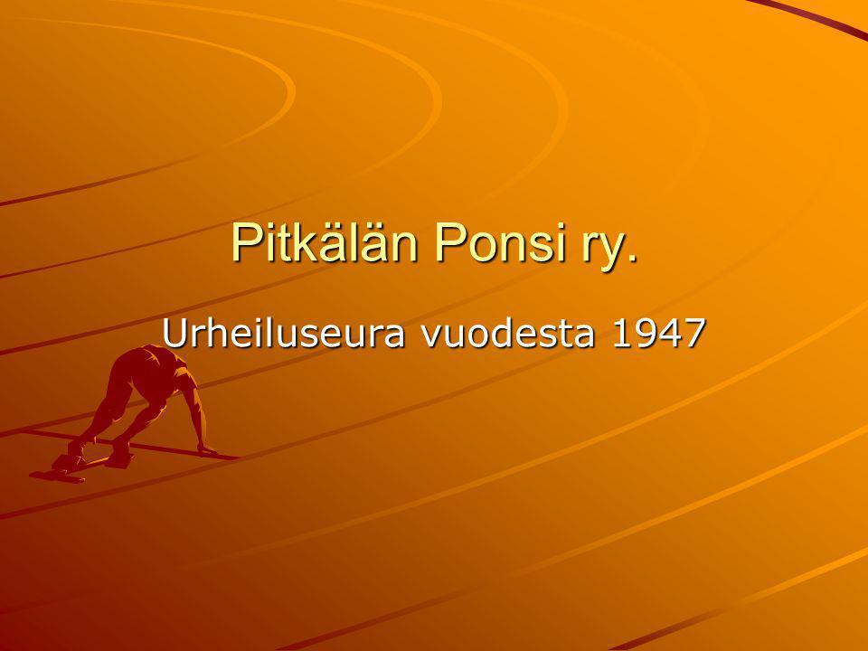Urheiluseura vuodesta 1947
