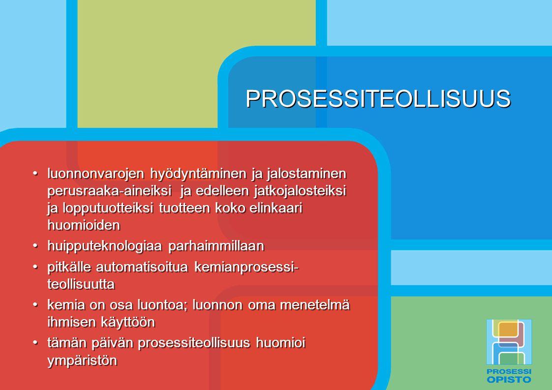 PROSESSITEOLLISUUS