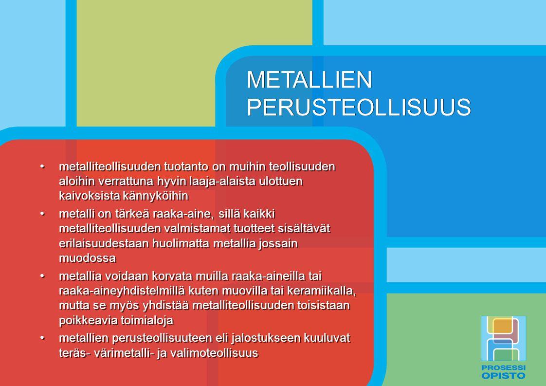 METALLIEN PERUSTEOLLISUUS