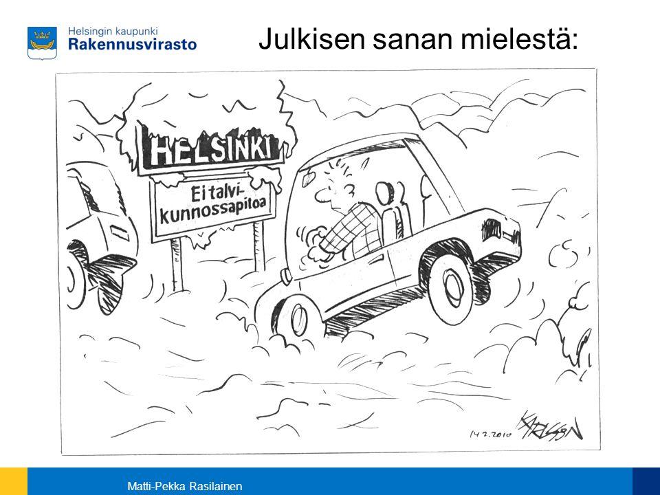 Julkisen sanan mielestä: