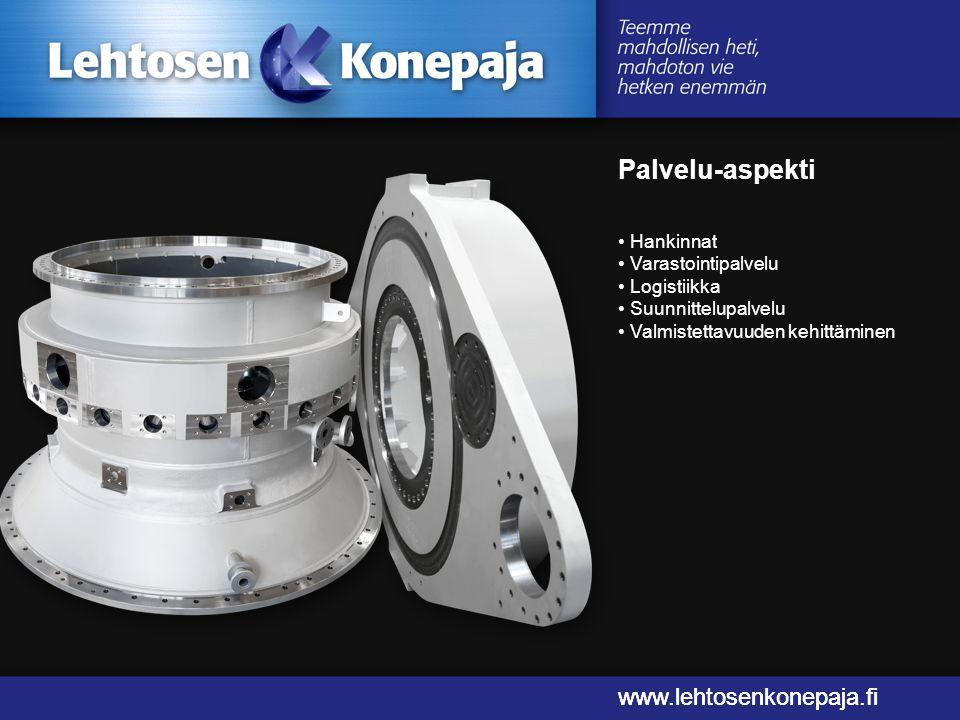 Palvelu-aspekti www.lehtosenkonepaja.fi www.lehtosenkonepaja.fi