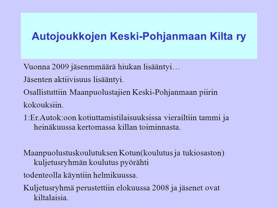 Autojoukkojen Keski-Pohjanmaan Kilta ry