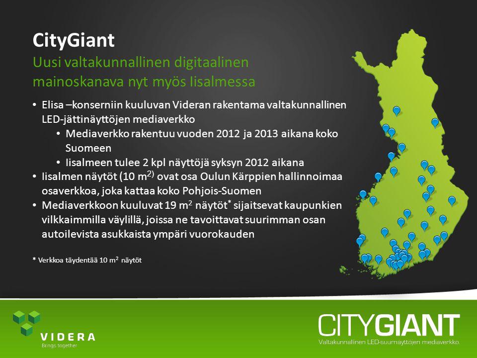 CityGiant Uusi valtakunnallinen digitaalinen