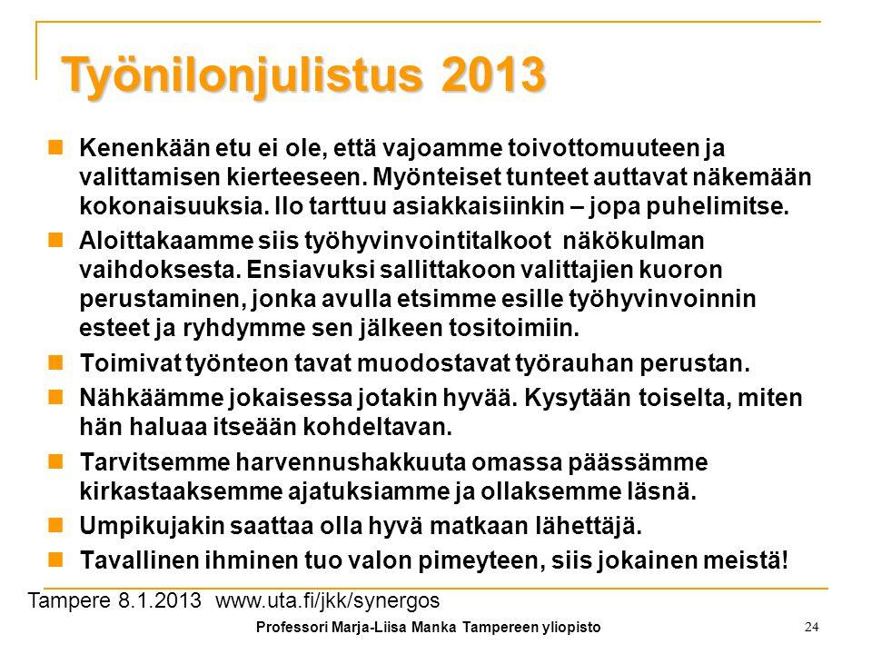 Professori Marja-Liisa Manka Tampereen yliopisto