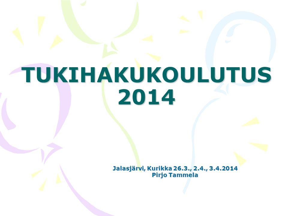 Jalasjärvi, Kurikka 26.3., 2.4., 3.4.2014 Pirjo Tammela