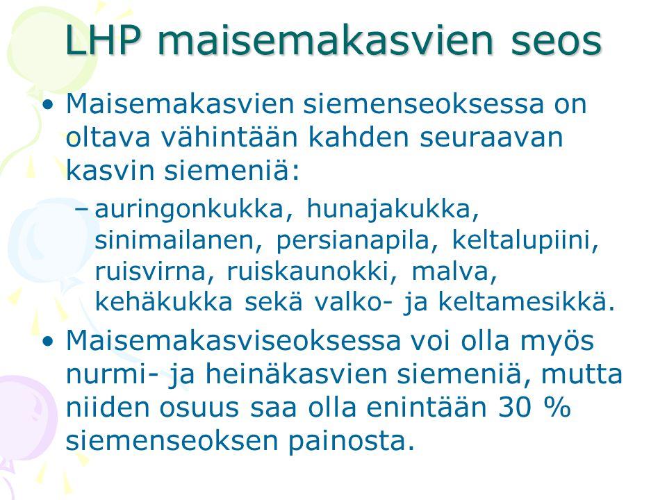 LHP maisemakasvien seos