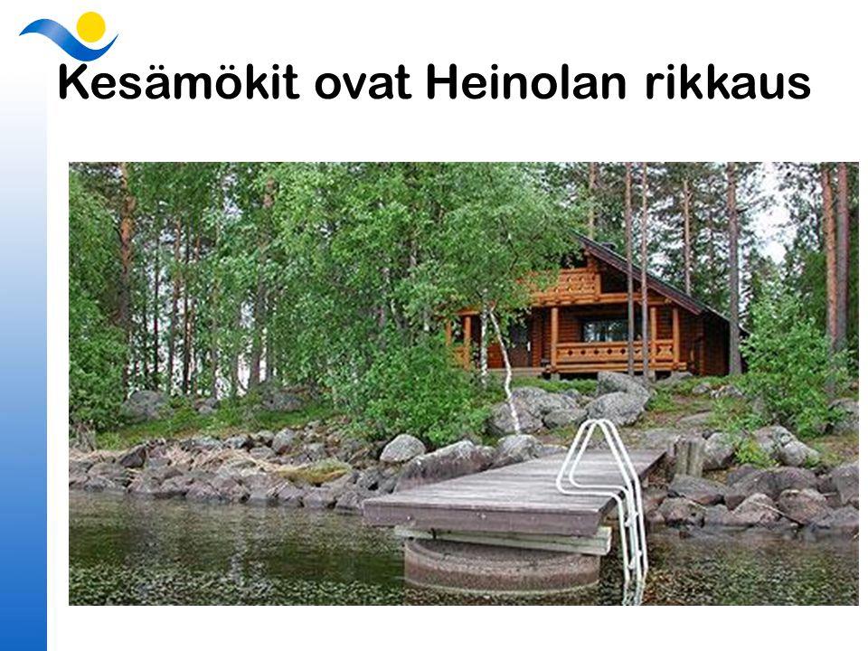 Kesämökit ovat Heinolan rikkaus