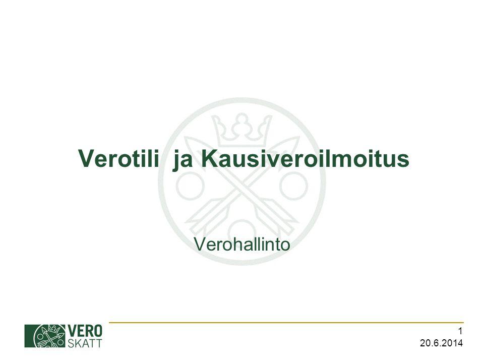 Verotili ja Kausiveroilmoitus