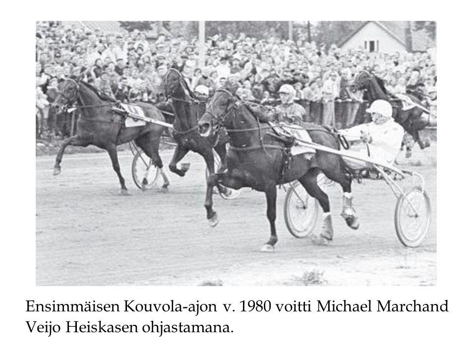 Ensimmäisen Kouvola-ajon v. 1980 voitti Michael Marchand