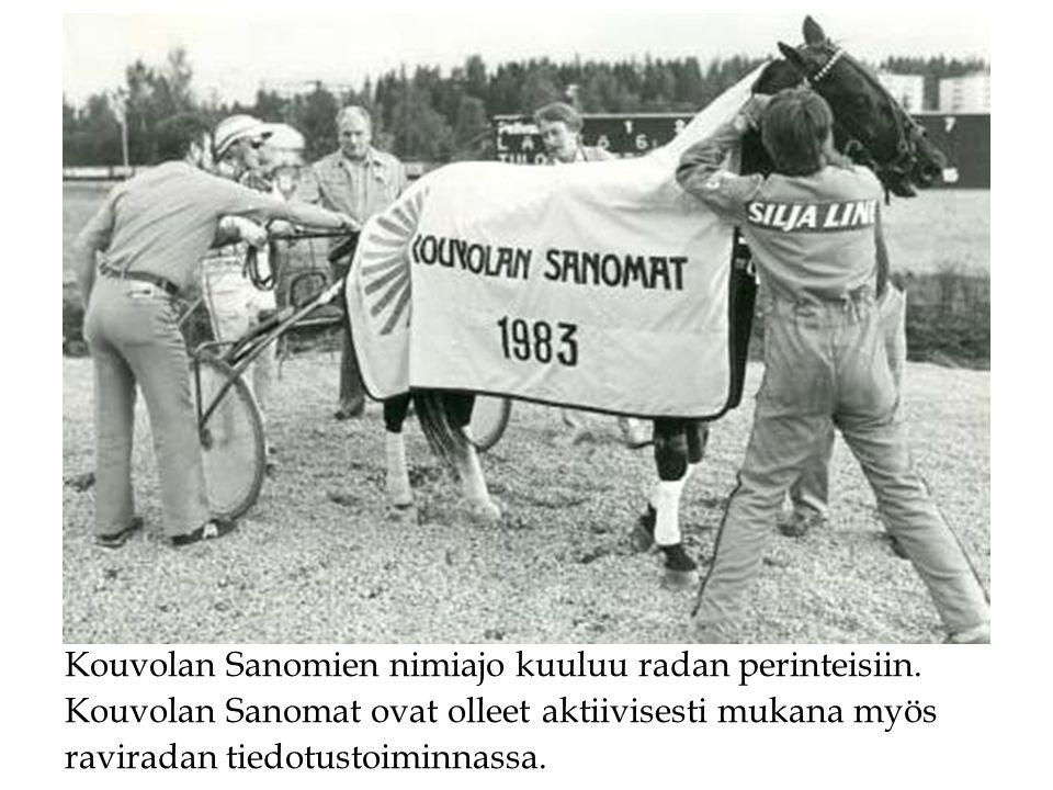 Kouvolan Sanomien nimiajo kuuluu radan perinteisiin.