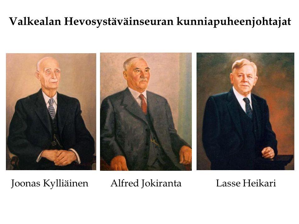 Valkealan Hevosystäväinseuran kunniapuheenjohtajat