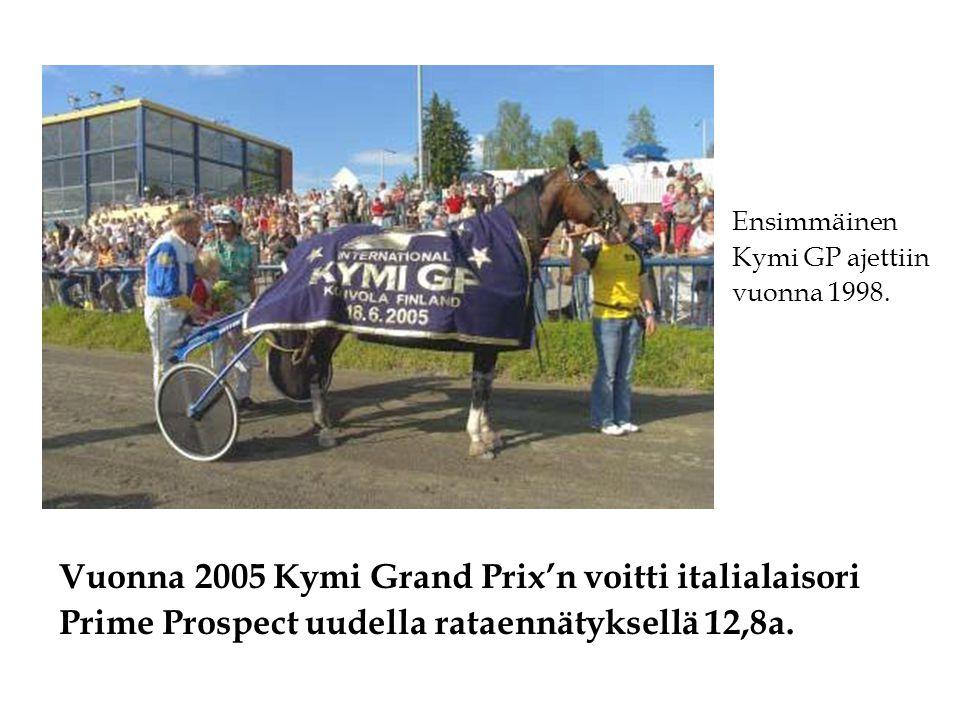 Vuonna 2005 Kymi Grand Prix'n voitti italialaisori