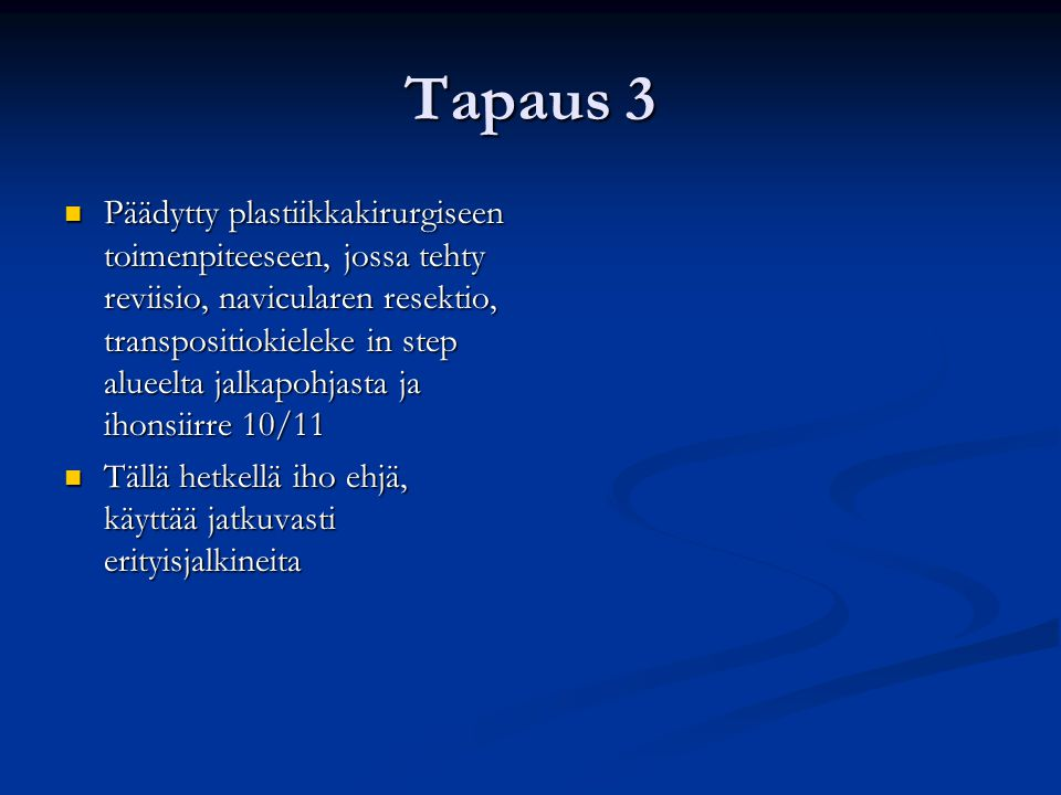 Tapaus 3