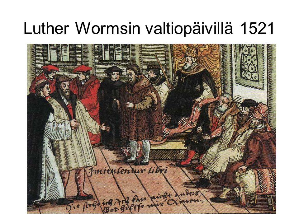 Luther Wormsin valtiopäivillä 1521
