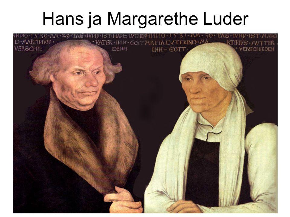 Hans ja Margarethe Luder