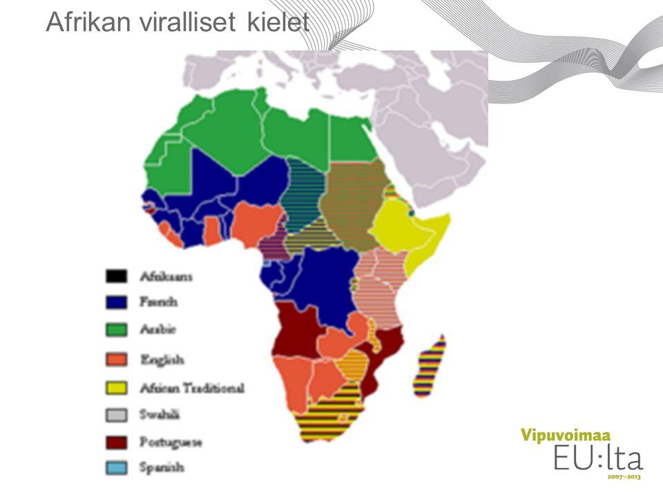 Afrikan viralliset kielet