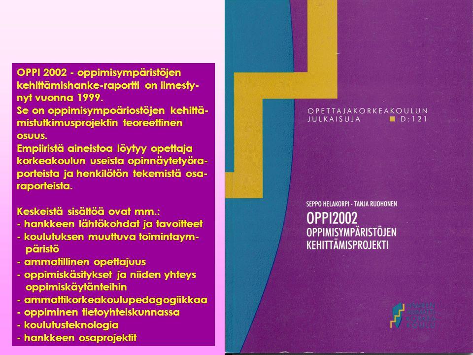 OPPI 2002 - oppimisympäristöjen