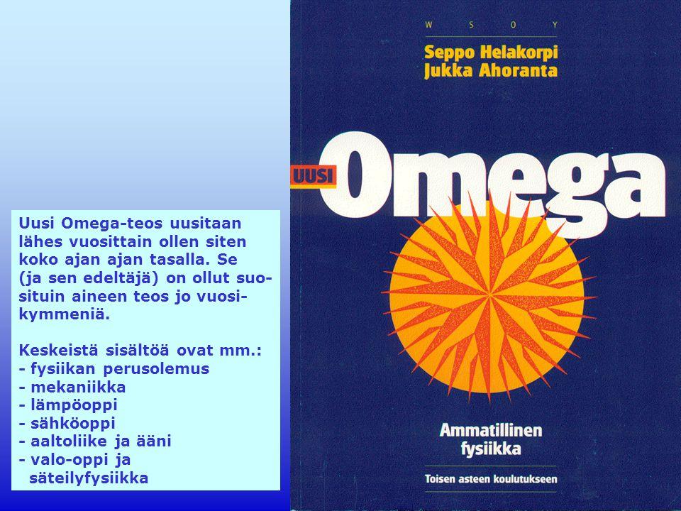 Uusi Omega-teos uusitaan