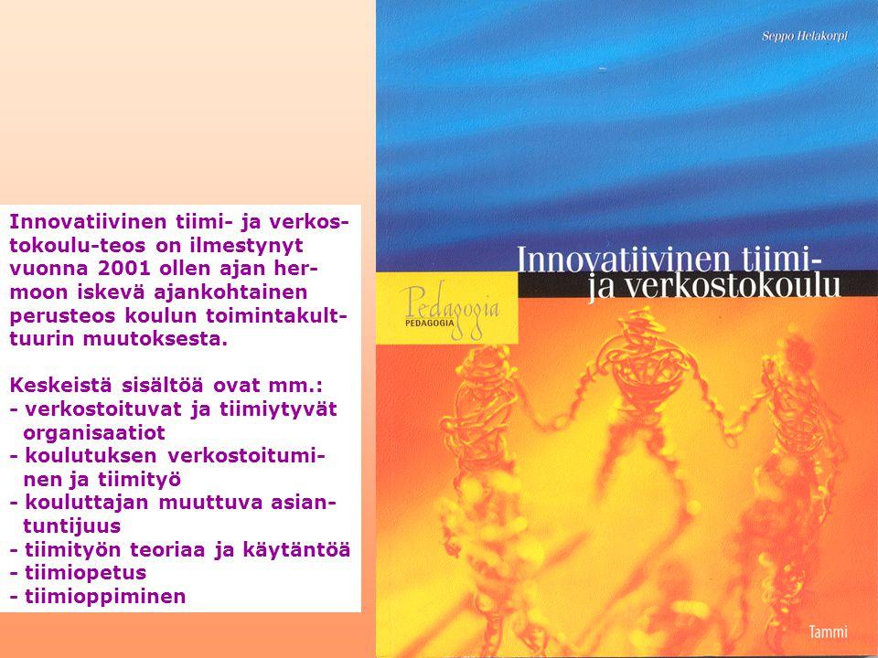 Innovatiivinen tiimi- ja verkos-