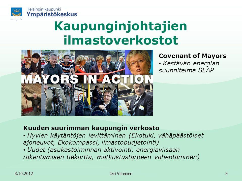 Kaupunginjohtajien ilmastoverkostot
